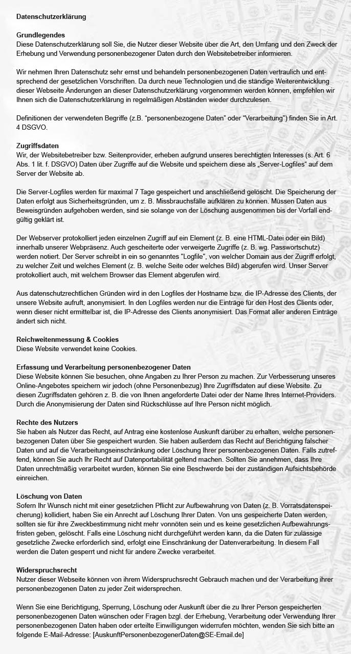 SE-Cert GmbH - Ihre Zertifizierungsstelle - Datenschutzerklärung